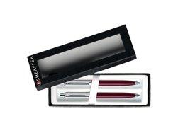 Foto Zestaw Sheaffer Sentinel Bordowo-Chromowy - 321 - długopis i ołówek